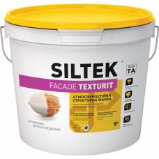 Краска структурная фасадная SILTEK Faсade Texturit 4,5 л