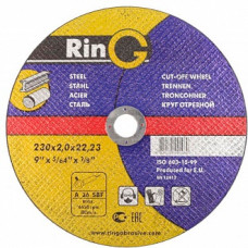 Диск отрезной по металлу RING AR-23020-41 230 мм, 2,0 мм, 22 мм