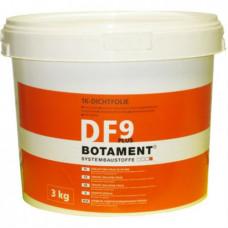 Гидроизоляция бесшовная эластичная BOTAMENT DF 9 Plus 3 кг
