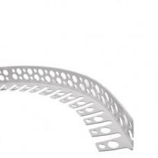 Профиль угловой Украина арочный пластиковый 3 м