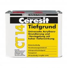 CERESIT CT-14 Грунтовка глубокопроникающая на растворителя, 5л