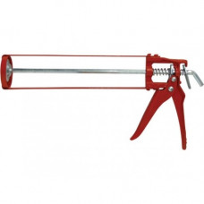 Пистолет для герметика Favorit Скелетный Красный