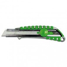 Нож с вращающимся фиксатором укрепленный металлический 18 мм, Colorado (13-605)