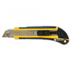 Нож 18 мм +3 лезвия (13-245) уплотненный Favorit