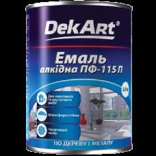 Эмаль алкидная DekArt ПФ-115П 0,9 кг