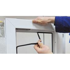Замена уплотнительной резины пластикового окна
