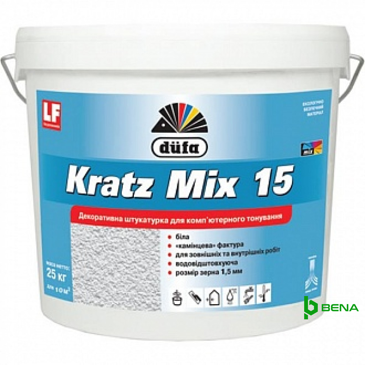 Штукатурка декоративная Kratz Mix 15 шуба 25 кг