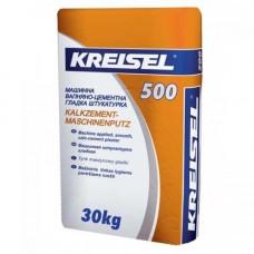 Штукатурка Kreisel 500 цементно-известковая машинная 30 кг