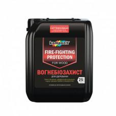 Огнебиозащита  для древесины БС-13 (красный) 10 л