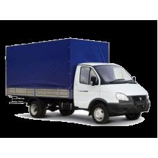Грузоперевозки до 1500 кг, 4.2 м (ГАЗ Тент 4 метра) по Киеву и области