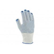 Перчатки трикотажные с ПВХ (хлопок)