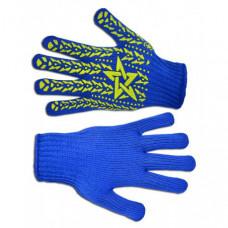 Перчатки УКРАИНА Звезда с вкраплением