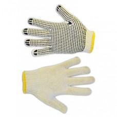 Перчатки TECHNICS плетеные с вкраплением