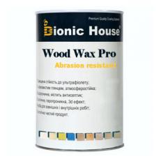 Профессиональная краска-воск для дерева Bionic House Wood Wax Pro 0,8 л Белый