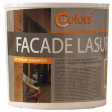 Фасадная краска-лазурь для дерева Bionic House Facade Lasure 32 Colors 0,8 л