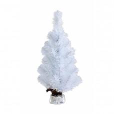 Ель литая BENA «Таежная» 45 см белая