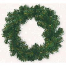 Венок BENA «Рождественский» d-17.5 см зелёный