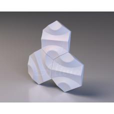 Декоративная гипсовая 3D панель Trance Bena 32,8х28,8 см, 1 шт