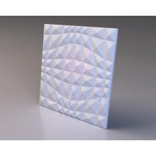 Декоративная гипсовая 3D панель Crystal Bena 60х60 см, 1 шт