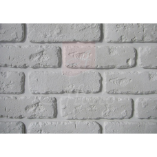 Декоративная гипсовая панель под кирпич Римский Bena 20х6х0,9 см