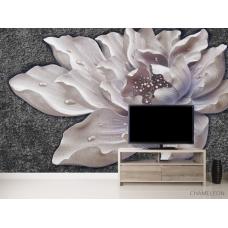 Фотообои Керамический цветок барельеф