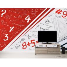Фотообои Для кабинета алгебры и геометрии