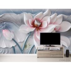 Фотообои Красивый керамический цветок
