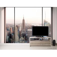 Фотообои Вид с окна в мегаполис