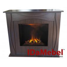 Каминокомплект IdaMebel Denpasar + Inferno 1170x990x460 мм коричневый