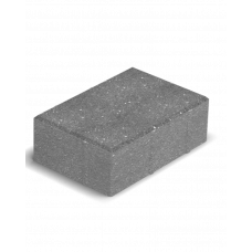 Тротуарная плитка Кирпич без фаски Bena 24х16х8 см