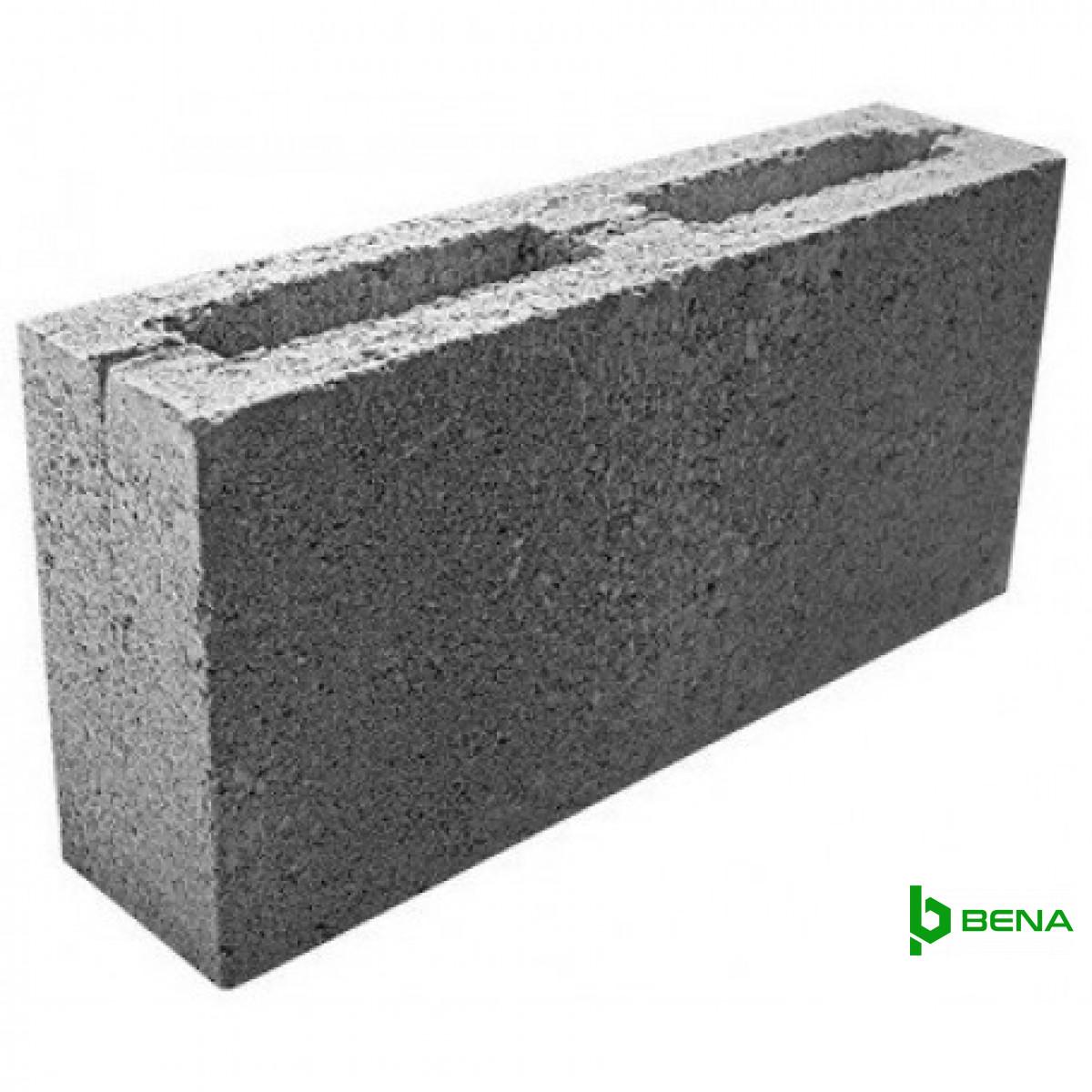 Блок бетонный перегородочный Bena 390х190х90 мм