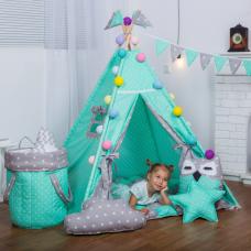 Детский вигвам «Звезды» без коврика и подушек BENA