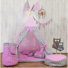 Вигвам-палатка «Розовые звезды» BENA
