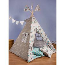 Вигвам-палатка «Слоник с голубым зонтом» BENA